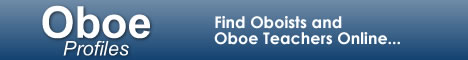 OboeProfiles.com - Find Oboists and Oboe Teachers Online